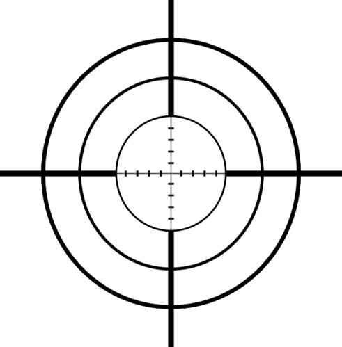 Rifle Scope Cross Hair